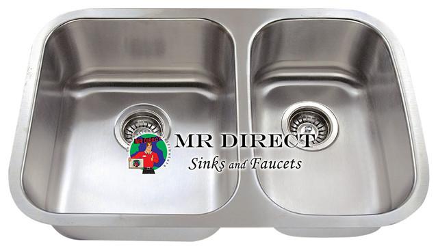 528L Stainless Steel Kitchen Sink modern-kitchen-sinks