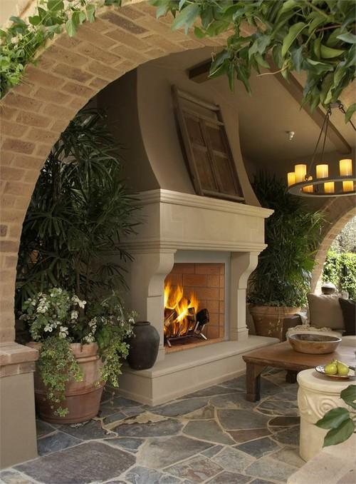 Unique Cast Stone Fireplaces