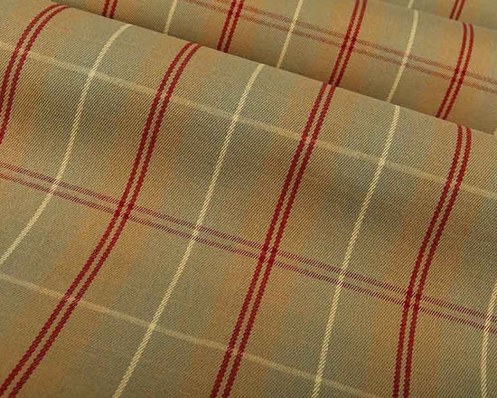 Gig Harbor Plaid Upholstery Fabric in Sage - Gig Harbor Upholstery Fabric in Sage is a mellow plaid upholstery fabric that is perfect for a masculine design or an office or den. Made from 100% cotton, this upholstery fabric passes 100,000 double rubs on the Wyzenbeek Abrasion Test. Cleaning Code: S; UFAC: Class I; passes CA117 Test. Width: 54″; repeat: 6″ H x 3 1/4″ V.