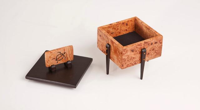 petroglyph box tropical-artwork