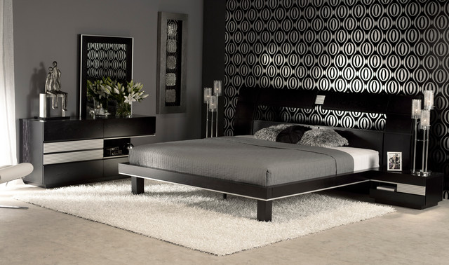 the gianmarco bedroom set contemporary bedroom miami