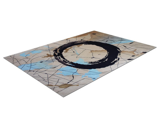 Zen Rug Collection OM - Allure Custom Rug Studio. Can be made in any size, color, or shape. Made in Denver