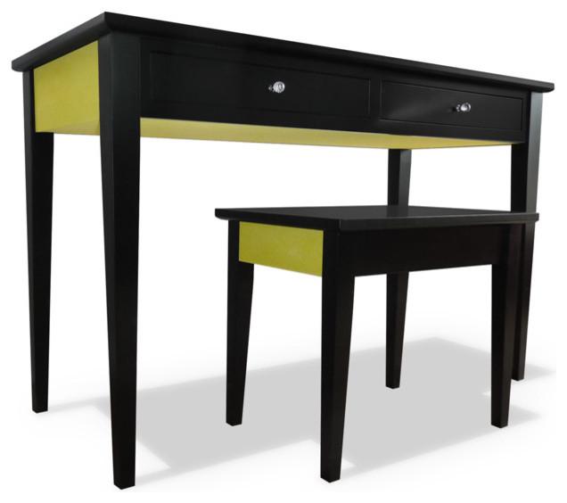 Pashley Desk / Dressing Table - Modern - Bedroom & Makeup Vanities ...