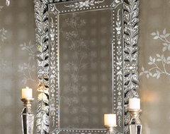 """Venetian"" Mirror traditional-wall-mirrors"