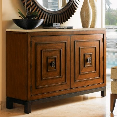 Tommy Bahama by Lexington Home Brands Ocean Club Jakarta Chest modern-baskets