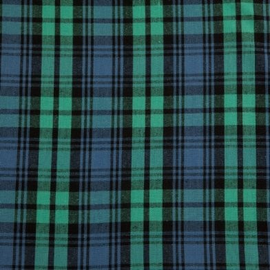Black Watchtartan Check Curtain Material Fabric Modern Upholstery Fabric Other Metro