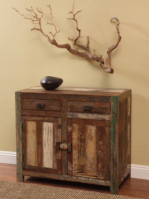 Shabby Chic Small Server - Eclectic - Buffets And ...