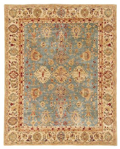 Anatolia Pastures Wool Area Rugs traditional-rugs
