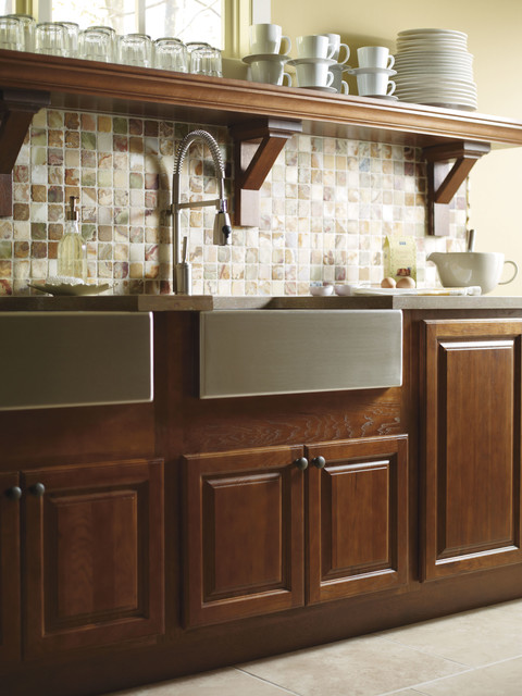 Country Sink Base : Schrock Country Sink Base Cabinet - Traditional - Kitchen Cabinetry ...
