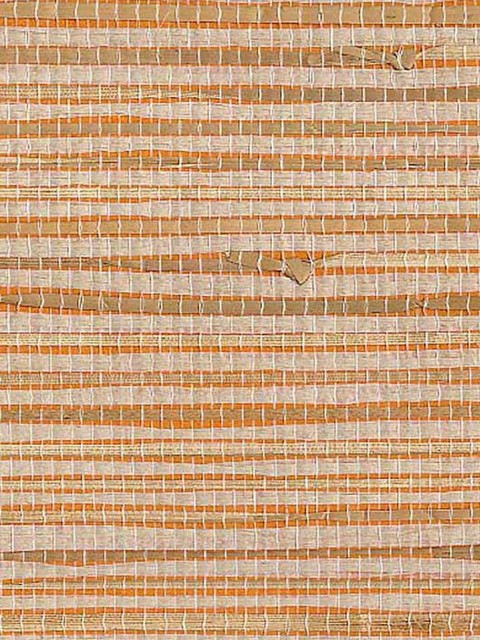 Yangtze Landing Grasscloth Wallpaper asian