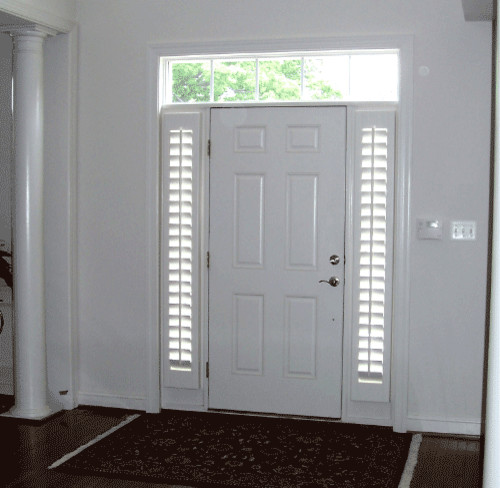 Sidelights With Shutters Png