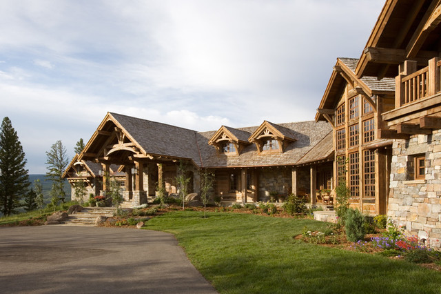 Yellowstone Club Residence traditional-exterior