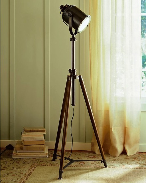 Photographers Tripod Floor Lamp eclectic floor lamps