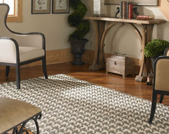 Bengal Olive Gray Rug contemporary-rugs