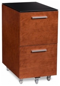 BDI | Sequel® 2-Drawer Mobile File Pedestal 6005 modern-filing-cabinets