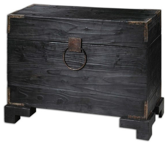 Uttermost Carino Wooden Trunk Table - 24305 transitional-home-decor