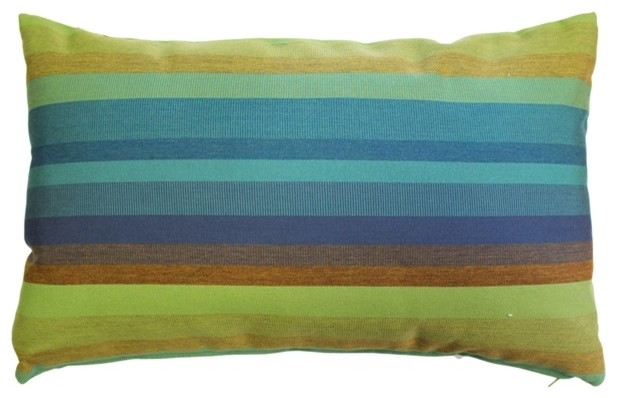 Pillow Decor - Sunbrella Astoria Lagoon Outdoor Pillow