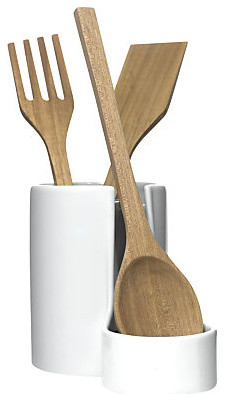 Utensil Jar with Spoon Rest specialty-kitchen-tools