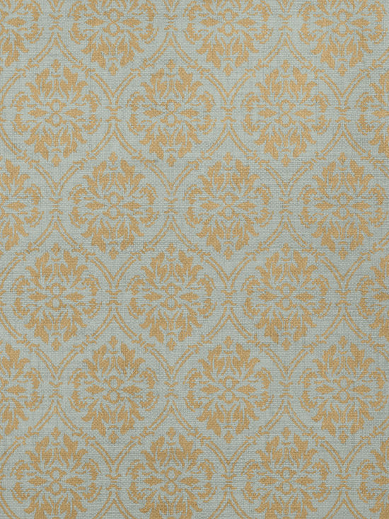 Texture Resource Volume 4 - Flat Shots - Bankun Damask wallpaper in Teal (T14121) from Thibaut's Texture Resource Volume 4 Collection
