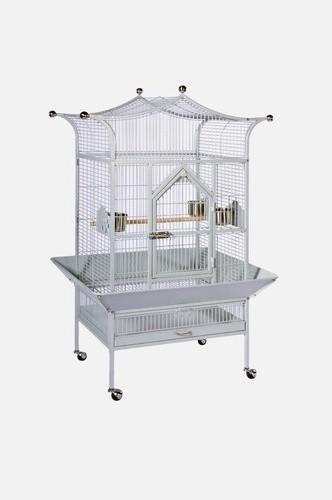 Signature Series Medium Royalty Wrought Iron Bird Cage modern-pet-supplies