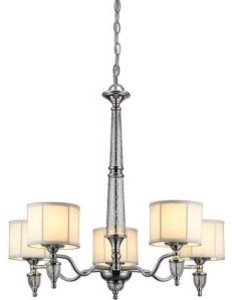 Waterton Collection 5-Light Chandelier Chrome Finish by The Home Depot contemporary-chandeliers