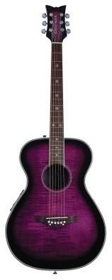 Daisy Rock Plum Purple Burst Pixie Acoustic/Electric Guitar modern-kids-toys-and-games