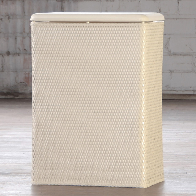 Carter Family Ivory Laundry Hamper - Contemporary - Kids Hampers - by Overstock.com