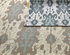 Belgrado Ikat Indoor/Outdoor Rug contemporary outdoor rugs