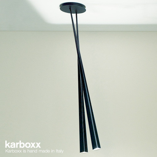 Karboxx Drink Bicono Carbon Ceiling Light