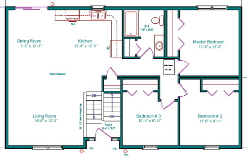 Split entry addition - Addition house plans collection ...