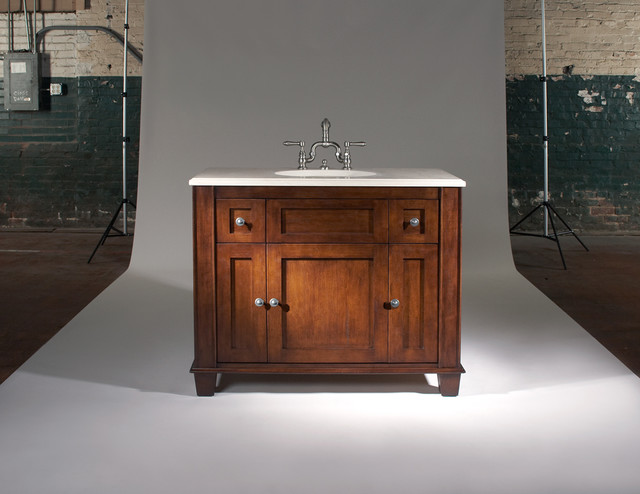 Signature Vanities by The Furniture Guild traditional bathroom vanities and sink consoles