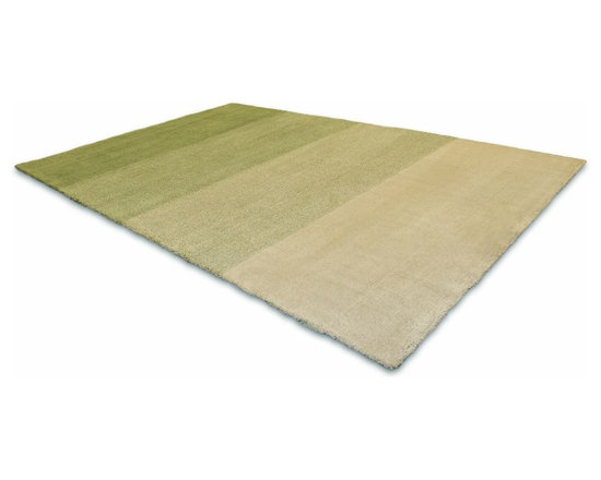 Ombre Rug - This low pile nylon rug is made locally in California.
