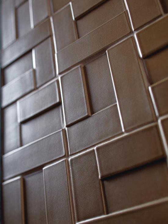 Ceramic - ANN SACKS Clodagh Core blocks ceramic field in silkstone