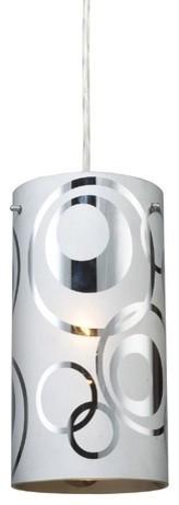 Chromia 1 Light Pendant modern-pendant-lighting