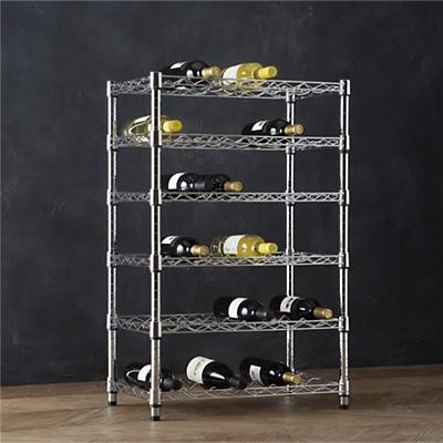 Work 36-Bottle Wine Rack contemporary-wine-racks
