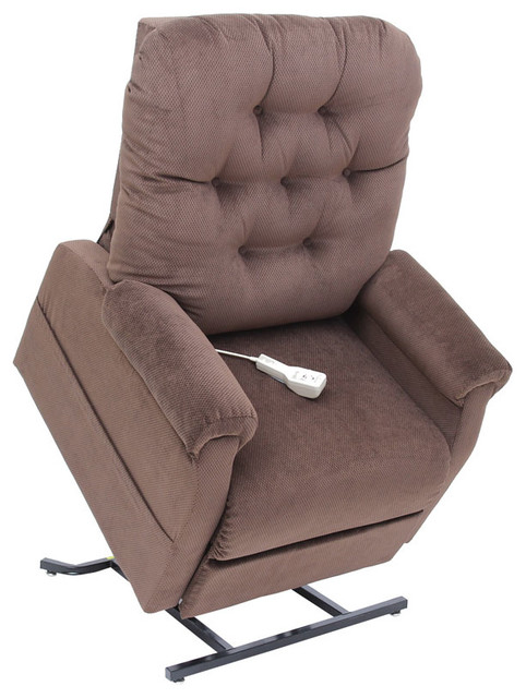 Easy Comfort Electric Lift Chair Recliner Chocolate