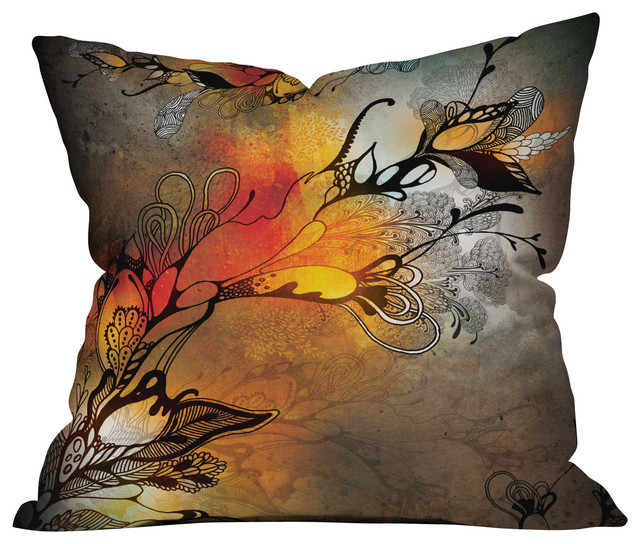 Iveta Abolina Before The Storm Outdoor Throw Pillow eclectic-outdoor-pillows
