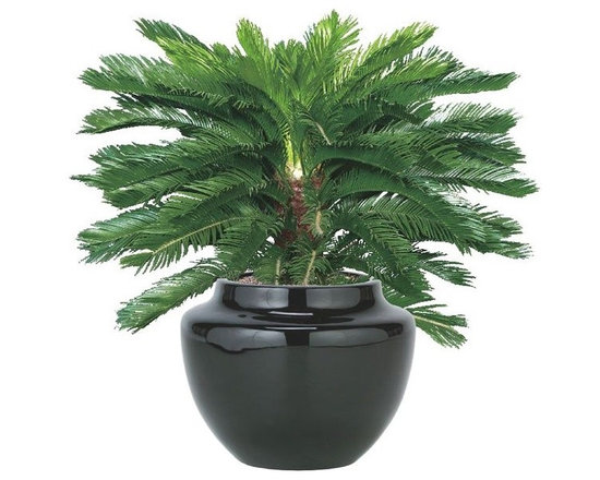 Outdoor Artificial Plant - Artificial outdoor palm tree.