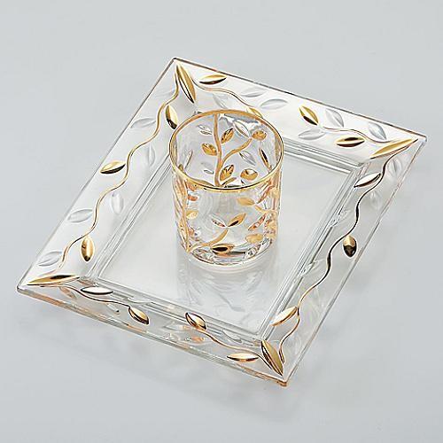 White Vine Vanity Tray traditional-bathroom-accessories