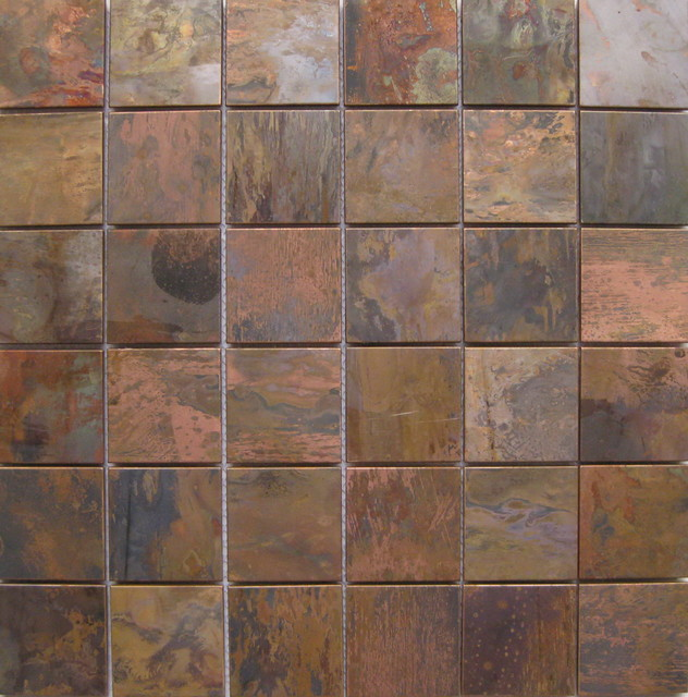 Antique copper tiles - Traditional - other metro - by ...