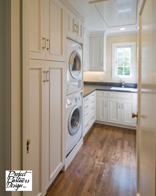 English Cottage - Traditional - Laundry Room - san francisco - by Project Partners Design