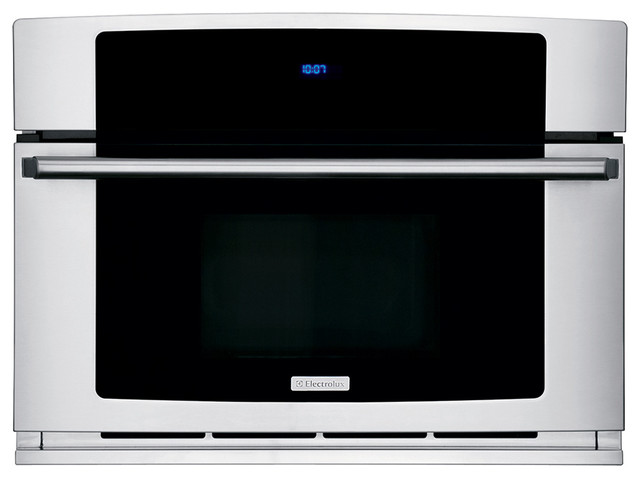Countertop Microwave Drop Down Door : ... Microwave Oven with Drop-Down Door contemporary-microwave-ovens