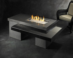 Uptown Gas Fire Pit Table contemporary-fire-pits