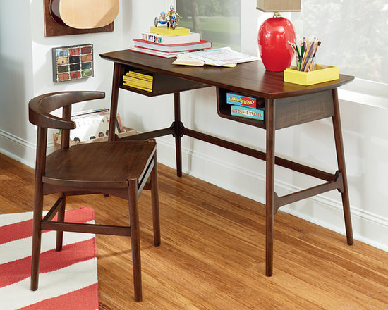 Writing Desk and Chair - Mila by Hammary -