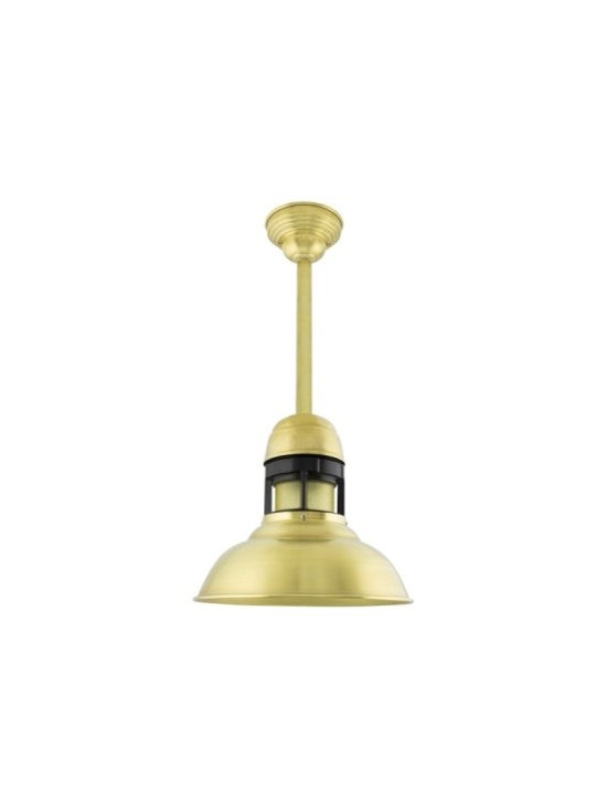 The Outback Brass Stem Mount Pendant -