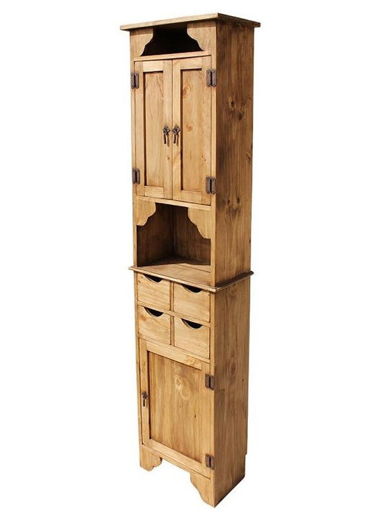 Rustic Pine Furniture for Your Hacienda -