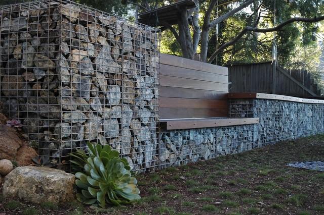 Serpentine Stone contemporary-landscape
