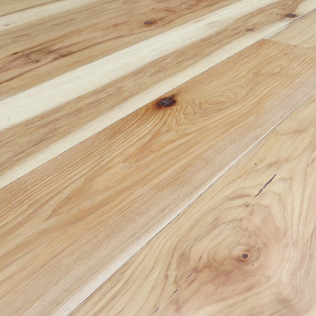 Hickory Uv Oiled Natural Hand Scraped Solid Engineered 7