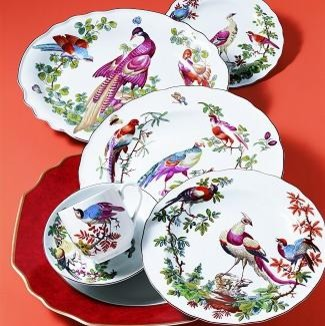 Mottahedeh - Chelsea Bird traditional-dinnerware-sets