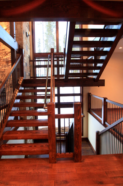 83 Lomax Drive traditional-staircase